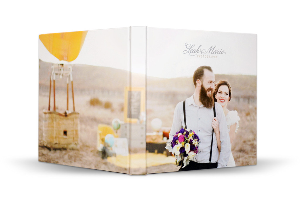 Photo Albums Direct Thin Album with Wrap Around Cover